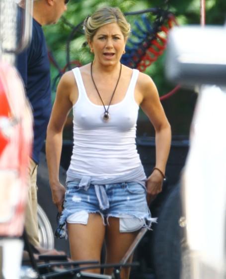 Jennifer Aniston was looking so beautiful actress