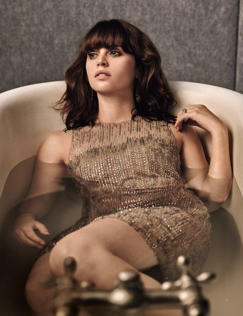 Felicity Jones is yet another hot celebrity in Hollywood from The united kingdom