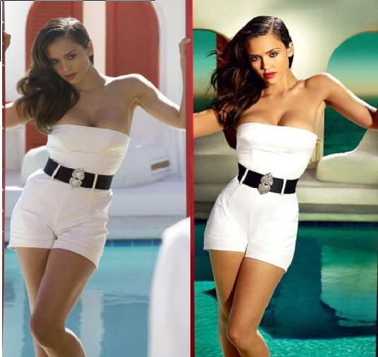 Celebrities Photoshopped Before and After
