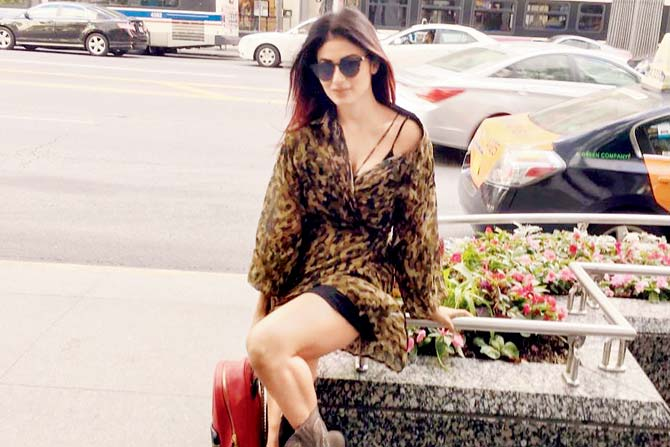 TV actress Mouni Roy holidays in Chicago