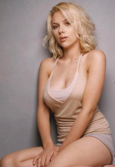 Scarlett Johansson is named as 'Sexiest Woman Alive' by Esquire Magazine